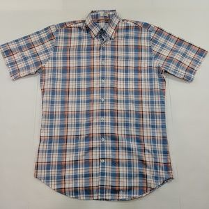 Peter Millar Plaid Button Up Shirt